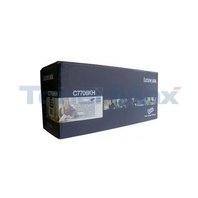LEXMARK C770DN TONER CARTRIDGE BLACK RP HY TAA